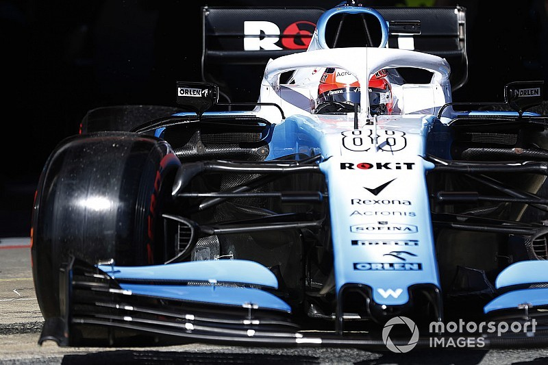 Kubica mitig car le temps est compt pour williams for Kubica cars