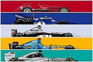 The most successful cars in F1 history