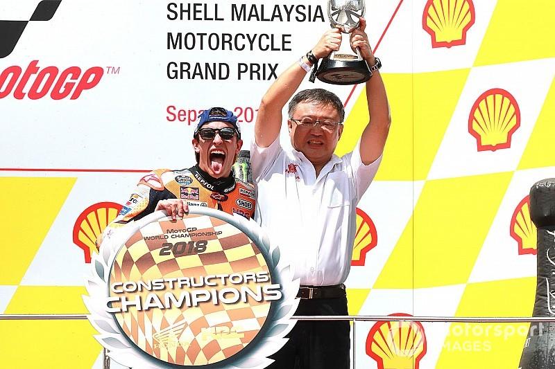 Honda : 11e titre constructeurs en 17 ans de MotoGP