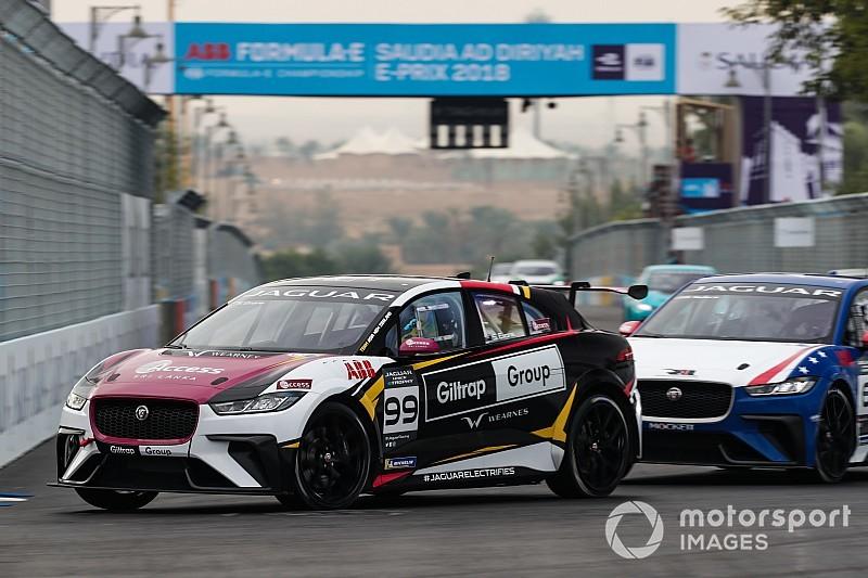 Evans vence primeira prova do Jaguar I-Pace com Jimenez em 2º