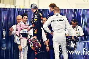 Verstappen: Ocon gülümseyince kendimi tutamadım