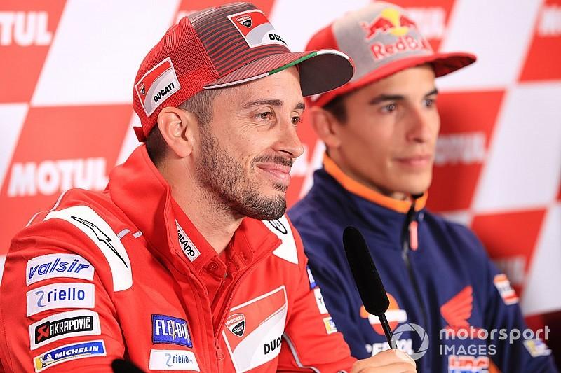 Ist Dovizioso der lachende Dritte, wenn sich Marquez und Lorenzo streiten?