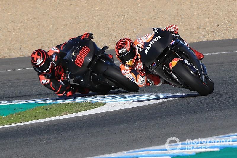 """Márquez: """"Lorenzo y yo coincidimos en dónde se tiene que mejorar la moto"""""""