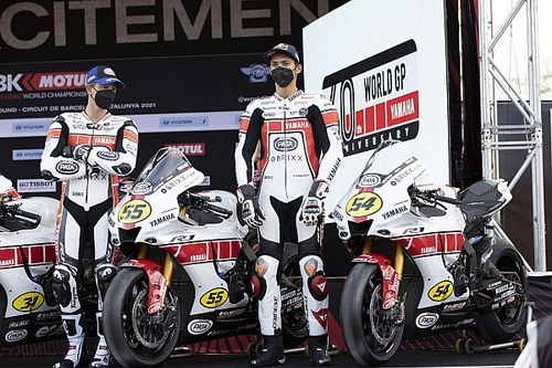 Yamaha reveals special anniversary livery for Barcelona