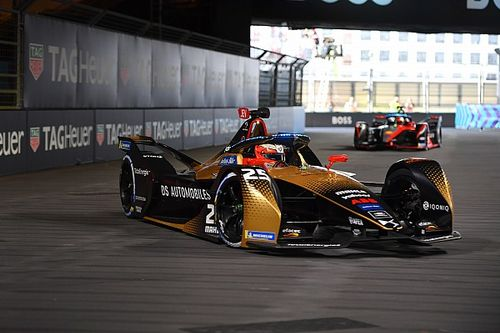 London E-Prix: Vergne tops tightly-contested first practice