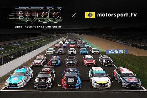 Le BTCC lance une chaîne sur Motorsport.tv