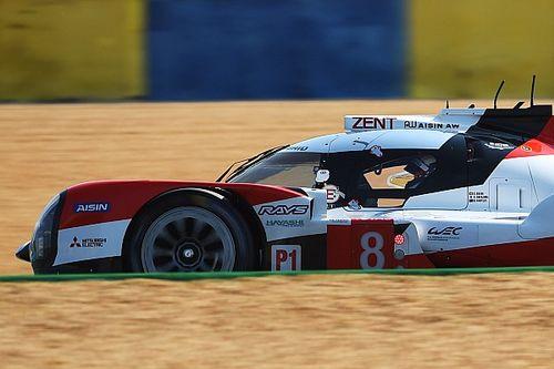 Toyota lidera el warm up de las 24h de Le Mans 2020 sobre mojado