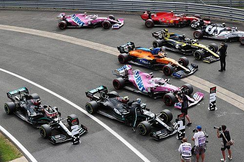 Положение в общем зачете Формулы 1 после Гран При 70-летия Ф1