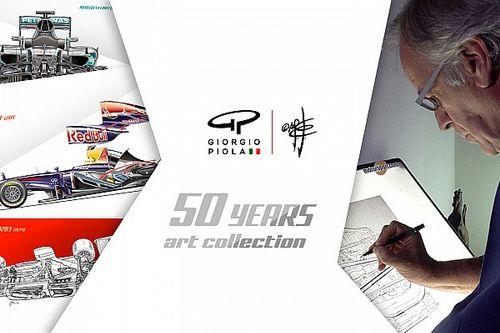 Giorgio Piola lance sa collection Fine Art sur Kickstarter