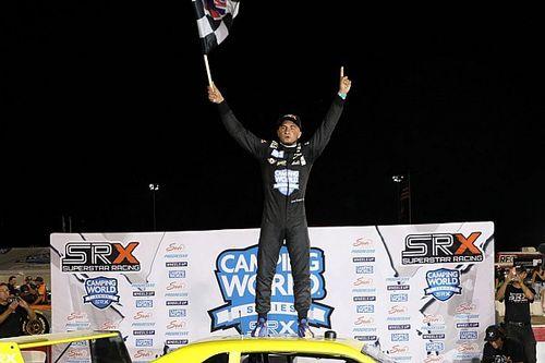 Ernie Francis Jr. wins first SRX race at Lucas Oil Raceway