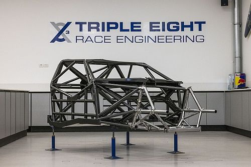 Supercars Gen3 chassis breaks cover