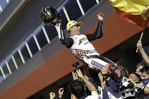 Galeri Foto: Arenas Rayakan Titel Dunia Moto3