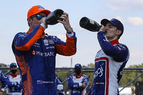 "Dixon predicts ""a hell of a fight"" with IndyCar team-mate Palou"
