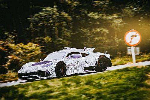 La Mercedes-AMG One toujours en cours de développement