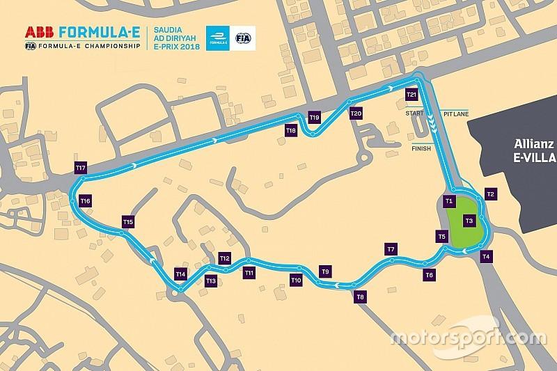 Le tracé du circuit de Riyad a été dévoilé