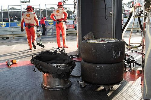 Supercars makes camber, pressure changes at Phillip Island