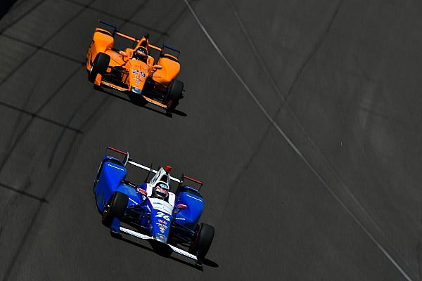 IndyCar Sato no tiene claro que Alonso fuera a ganar en Indy 500 sin romper motor