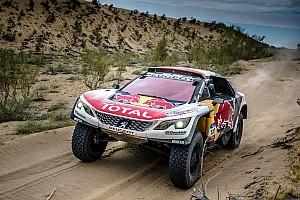 Rallye-Raid Rapport d'étape Étape 10 - Despres assure avec Peterhansel en ange gardien