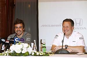 F1 Noticias de última hora Una broma detona la participación de Fernando Alonso en Indy