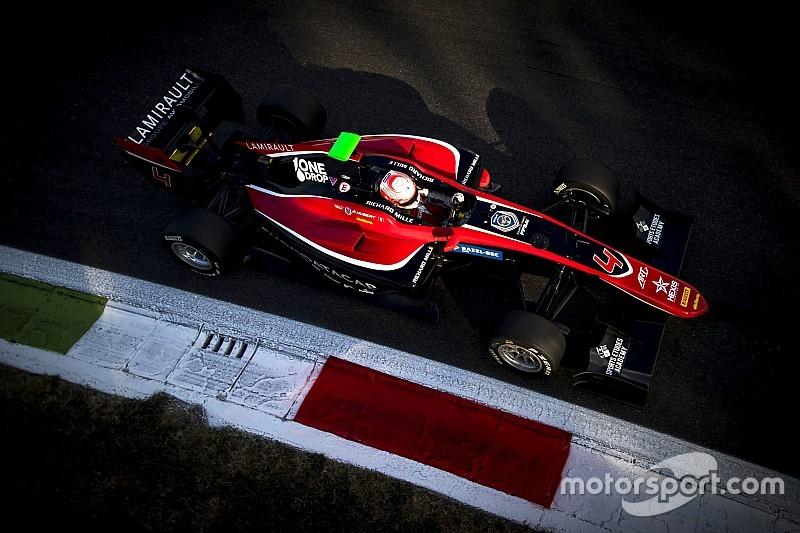 Юбер продолжит выступления за ART в GP3