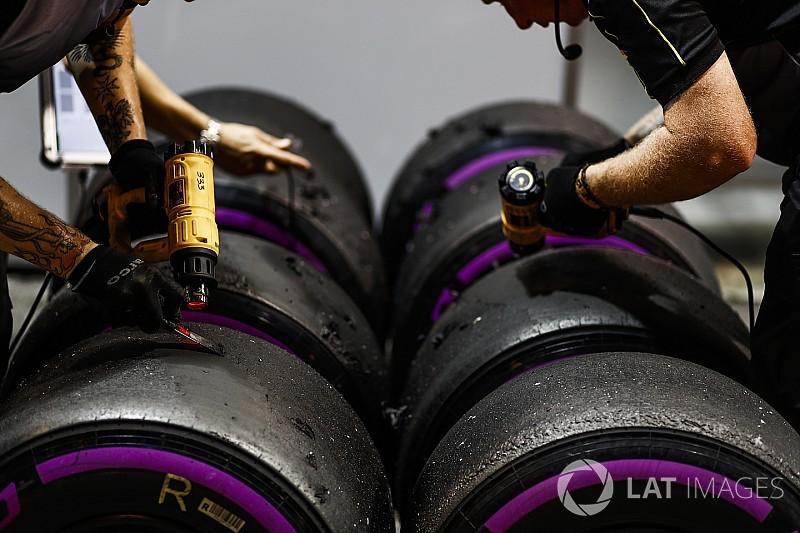 Гран Прі Малайзії: комплекти шин на гонку