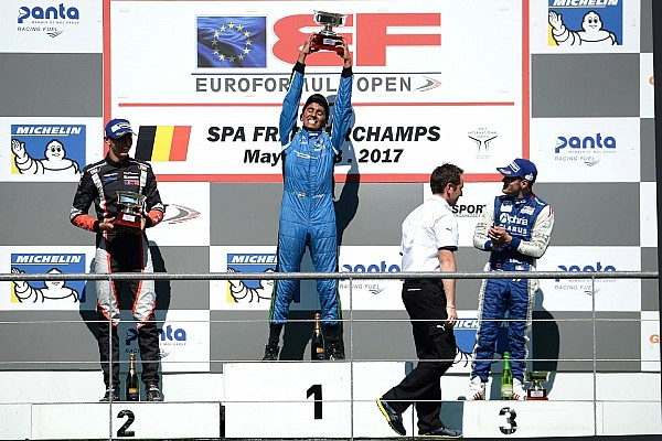 Euroformula Open Results How Indians performed over the weekend (May 25-27)