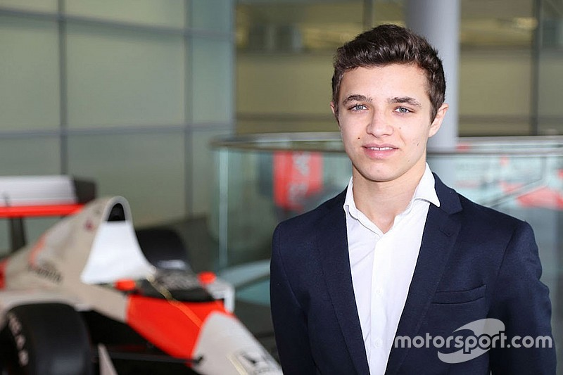 Norris entra nel programma junior McLaren, che conferma de Vries