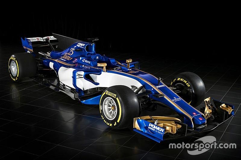 索伯发布2017年F1赛车