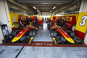 FIA F2 Breaking news Racing Engineering drops out as F2 names 2018 teams
