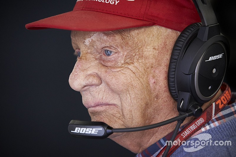 """Vienna hospital says Lauda showing """"continuous improvement"""""""