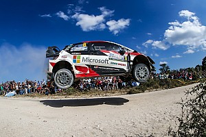 WRC Actualités Toyota écarte l'éventualité de consignes pour aider Tänak