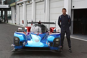 WEC Breaking news Button completes first test of SMP LMP1 car