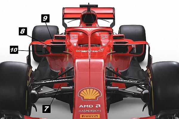 Formel 1 Analyse Formel-1-Technik: Mit diesen Tricks will Ferrari den Titel holen