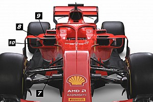 Análisis técnico: las 10 sutilezas del Ferrari SF71H