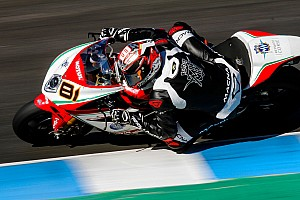 WSBK Reporte de pruebas Torres debuta con MV Agusta y Baz con BMW en los test de Jerez