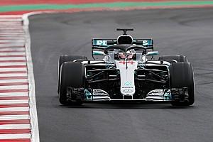 Formel 1 Testbericht Formel-1-Test Barcelona: Hamilton & Mercedes klar voran