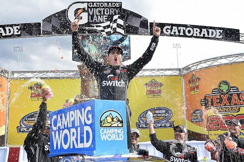 Gragson surpreende e vence pela 1ª vez na Truck Series