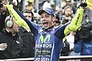 Rossi genoot van felle strijd: