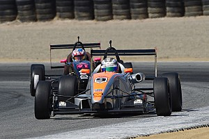 USF2000 Race report Franzoni wins, Thompson closes on Martin in points race