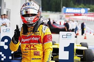 FIA F2 Отчет о гонке Эванс и Гелаэль добыли дубль для Campos в безумной гонке