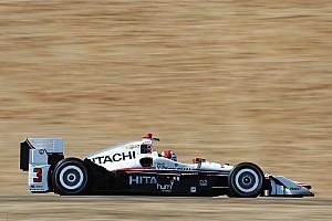 IndyCar Отчет о тренировке Кастроневес быстрее всех в тренировке, Алёшин – 6-й