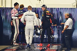 Verstappen en Ocon in FIA persconferentie Abu Dhabi