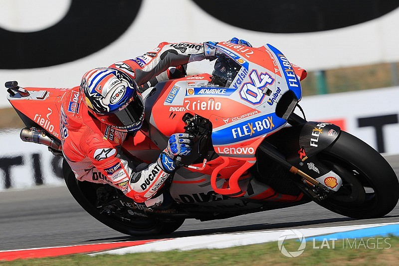 MotoGP Ceko: Dovizioso pimpin warm-up, Ducati 1-2