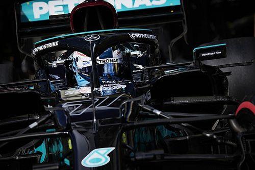 EL1 - Bottas le plus rapide, Mercedes domine