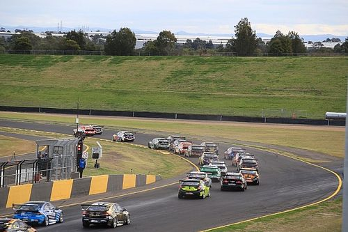 Percat, Holdsworth survive wild first-lap moment