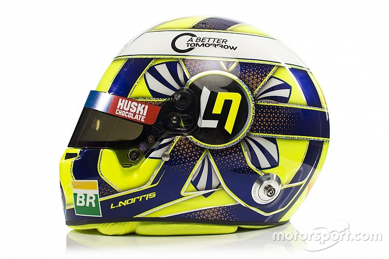 Anteprima McLaren: Lando Norris svela il casco del suo debutto in Formula 1