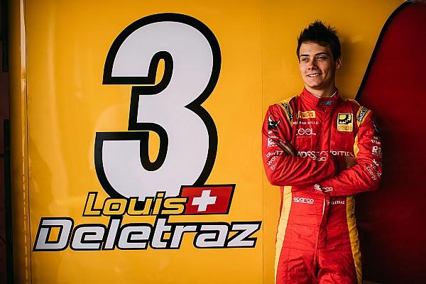 Formel 2: Louis Delétraz zündet… seine Internetseite