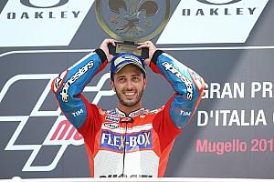 MotoGP Résumé de course Course - Dovizioso triomphe à domicile avec la Ducati