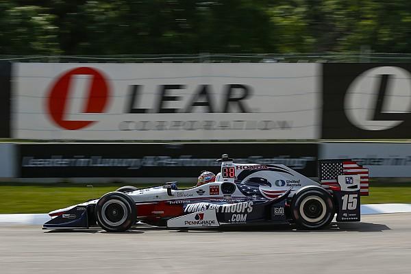 IndyCar Rahal approfitta della penalità a Castroneves e centra la pole a Detroit