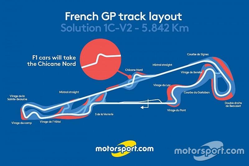 El GP de Francia tendrá una chicane en la recta Mistral del Paul Ricard